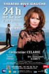 24H DE LA VIE D'UNE FEMME avec Cl+®mentine CELARIE (Th+®+ótre Rive-Gauche - Paris 14+¿me) - Visuel HD d+®finitif
