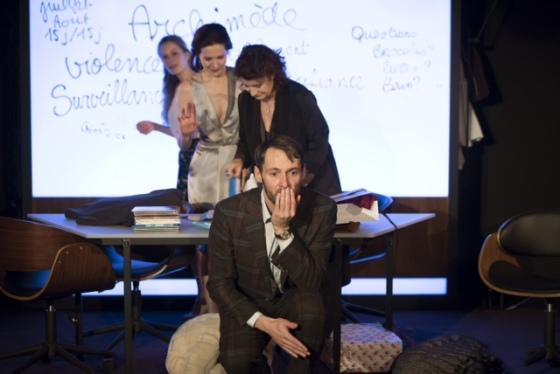 LA MEDIATION - Lambert -  Boisselier - Theatre de Poche Montparnasse