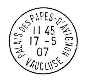 Cachet_de_la_poste_-_1907_-_Palais_des_Papes